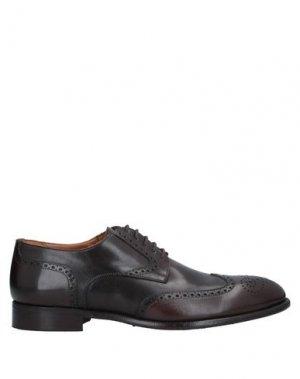 Обувь на шнурках JP/DAVID. Цвет: темно-коричневый