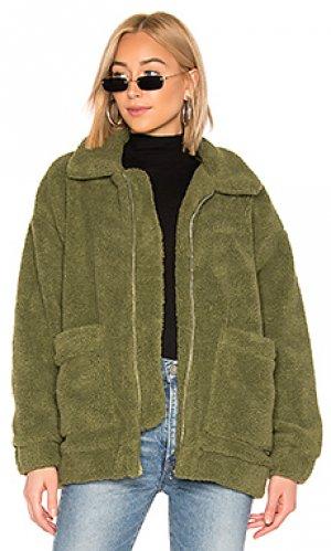 Куртка pixie I.AM.GIA. Цвет: зеленый