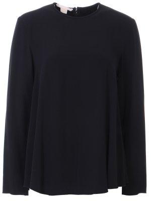 Блуза свободного кроя Antonio Berardi. Цвет: черный