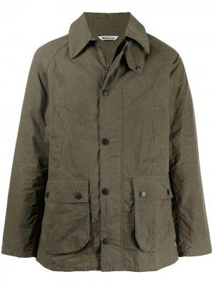 Легкая куртка Bedale Barbour. Цвет: зеленый