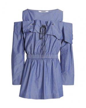Блузка CHALAYAN. Цвет: грифельно-синий