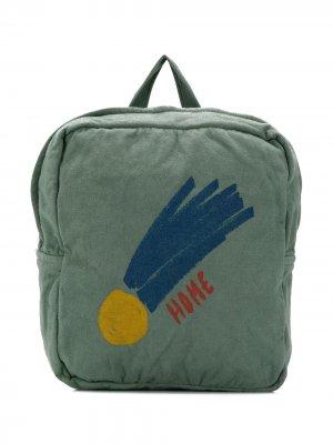 Рюкзак с принтом Bobo Choses. Цвет: зеленый