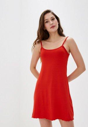 Сорочка ночная Arloni. Цвет: красный