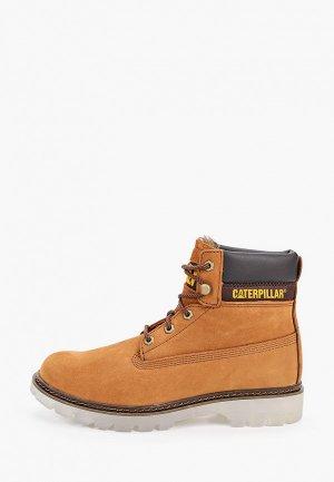 Ботинки Caterpillar LYRIC Womens insulated boots. Цвет: коричневый