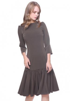 Платье Marichuell NANA. Цвет: бежевый