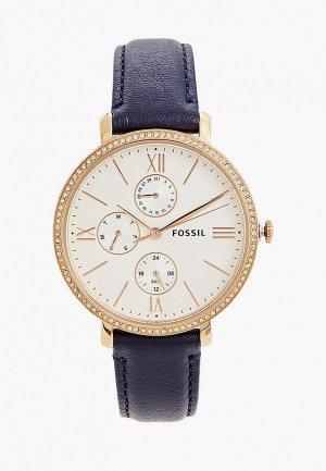 Часы Fossil ES5096. Цвет: синий