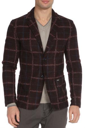 Пиджак Gaudi. Цвет: 01 бордово-коричневый