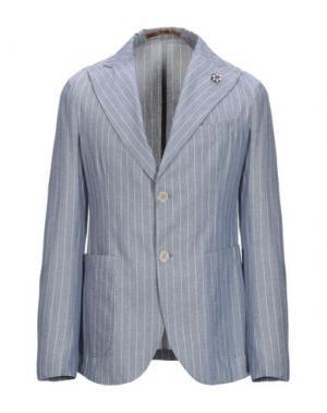 Пиджак GABARDINE. Цвет: синий