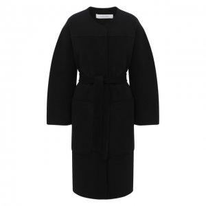 Пальто из шерсти и кашемира See by Chloé. Цвет: чёрный