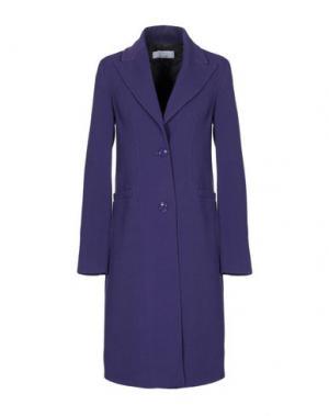 Легкое пальто KAOS. Цвет: фиолетовый