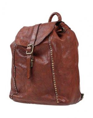 Рюкзаки и сумки на пояс CAMPOMAGGI. Цвет: коричневый