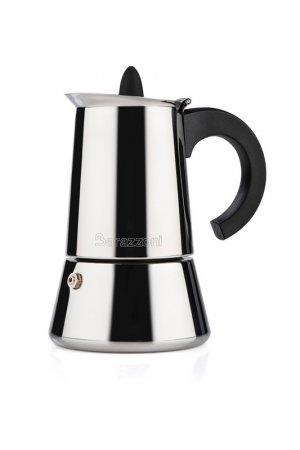 Кофеварка Barazzoni. Цвет: серый