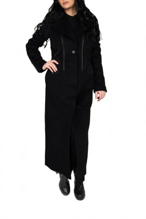 Пальто Antonio Berardi. Цвет: черный