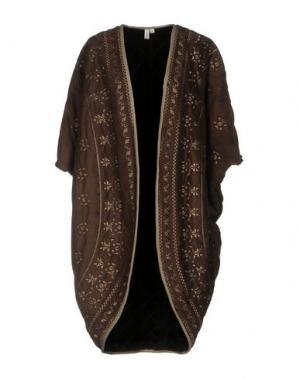 Легкое пальто BLANK. Цвет: темно-коричневый