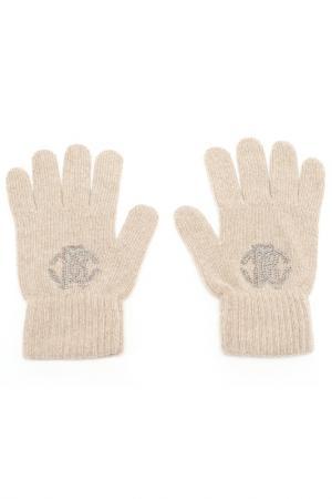 Перчатки Roberto Cavalli. Цвет: 520, cammello бежевый