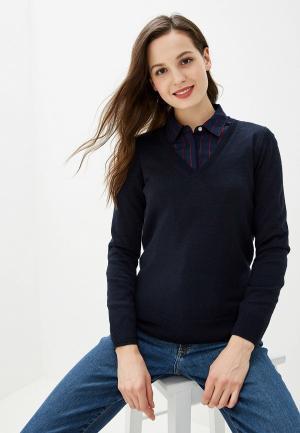 Пуловер Banana Republic. Цвет: синий