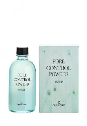 Тоник для лица The Skin House с абсорбирующей пудрой «Pore control powder» 130 мл