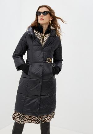 Куртка утепленная Cavalli Class. Цвет: черный