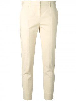 Фактурные укороченные брюки Reed Krakoff. Цвет: нейтральные цвета