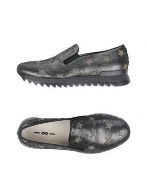 Низкие кеды и кроссовки 181 by ALBERTO GOZZI. Цвет: стальной серый
