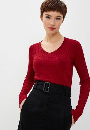 Пуловер Emporio Armani. Цвет: красный