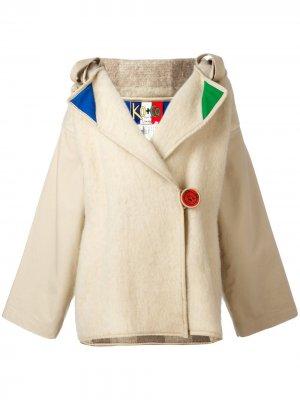 Куртка с капюшоном и декоративной отделкой JC de Castelbajac Pre-Owned. Цвет: нейтральные цвета