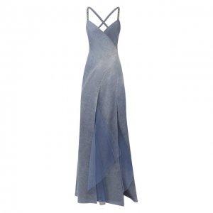 Джинсовое платье Ralph Lauren. Цвет: синий