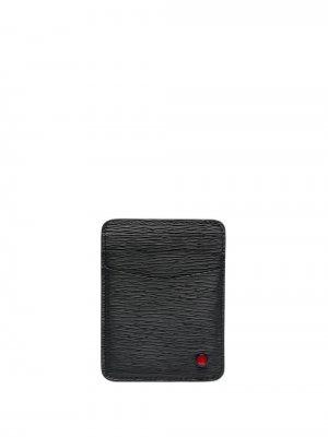 Картхолдер с логотипом Kiton. Цвет: черный