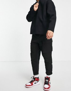 Черные свободные брюки карго -Черный цвет G-Star