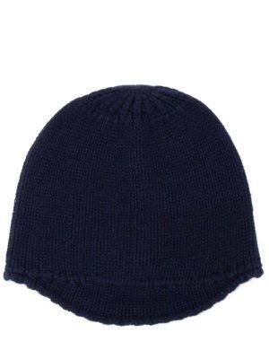 Кашемировая шапка с козырьком LES COPAINS
