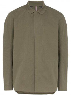 Куртка-рубашка Veil Component Arc'teryx Veilance. Цвет: зеленый