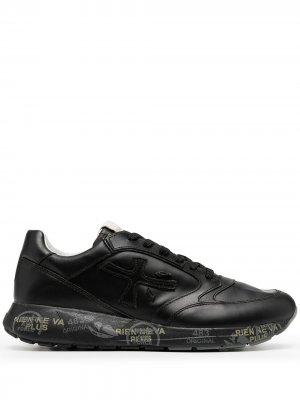Кроссовки с графичным принтом Premiata. Цвет: черный