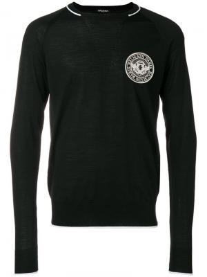Logo sweater Balmain. Цвет: черный