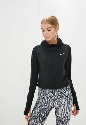 Толстовка Nike ELEMENT WOMENS RUNNING HOODIE. Цвет: черный
