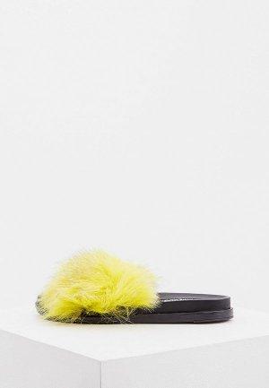 Сабо Jog Dog. Цвет: желтый