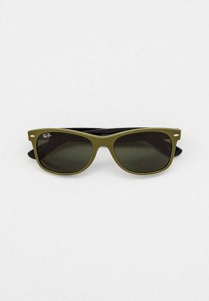 Очки солнцезащитные Ray-Ban® 0RB2132 646531. Цвет: хаки