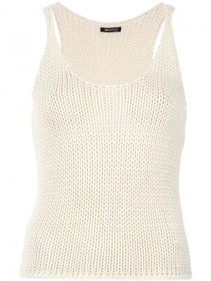 Roma knit sleeveless top Uma   Raquel Davidowicz. Цвет: телесный