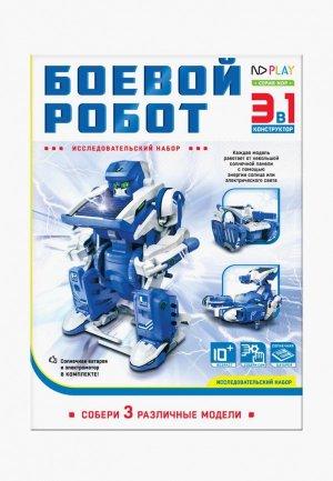 Конструктор ND Play Боевой робот 3 в 1. Цвет: синий