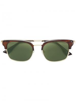 Солнцезащитные очки Katoch Le Specs. Цвет: коричневый
