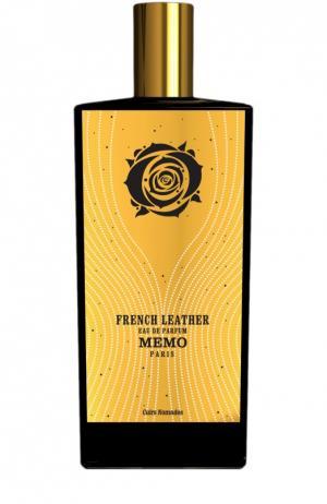 Парфюмерная вода-спрей French Leather Memo. Цвет: бесцветный