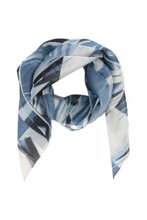 Платок F.FRANTELLI. Цвет: серый, голубой