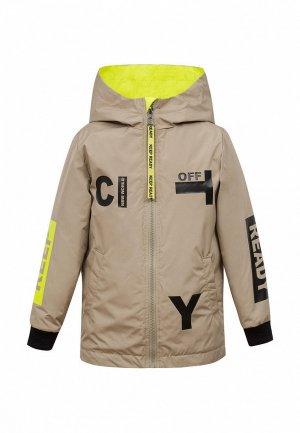 Куртка утепленная Bell Bimbo. Цвет: бежевый