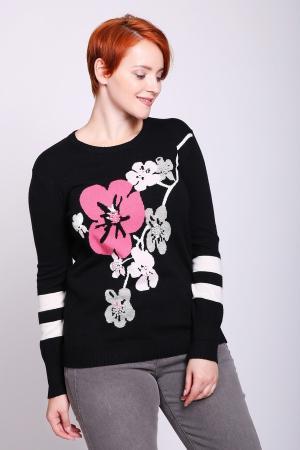 Пуловер Eugen Klein. Цвет: разноцветный