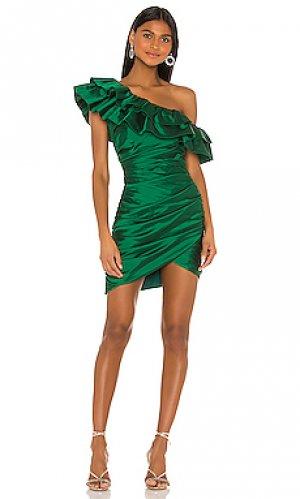 Мини платье jolene Jay Godfrey. Цвет: зеленый