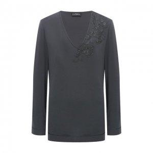 Пуловер La Perla. Цвет: серый