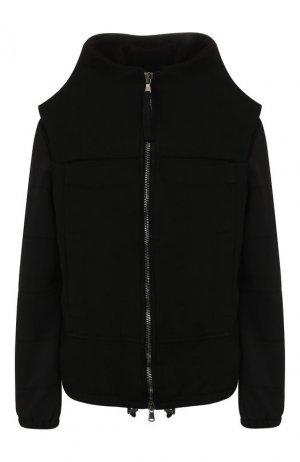 Куртка из вискозы Roque. Цвет: чёрный