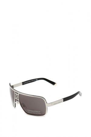 Очки солнцезащитные с линзами DSQUARED. Цвет: 14a серебристый