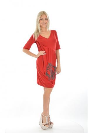 Платье 2026. Цвет: красный