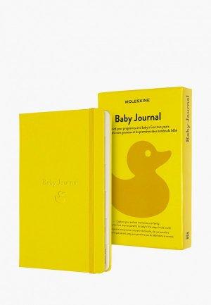 Блокнот Moleskine Passion BABY. Цвет: желтый