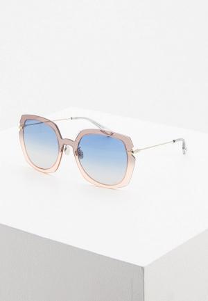 Очки солнцезащитные Christian Dior DIORATTITUDE1 7HH. Цвет: синий
